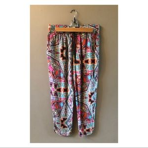 Anthropologie Leifnotes Cropped Joggers Sz 6